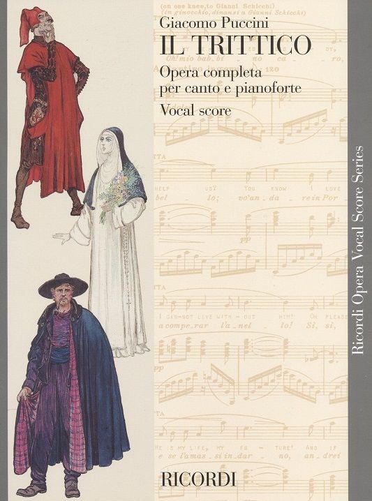 Puccini, Giacomo - Il trittico : Klavierauszug (en/it)