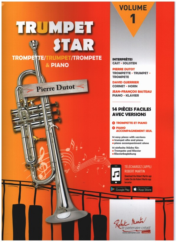 - Trumpet Star vol.1 (+CD) :