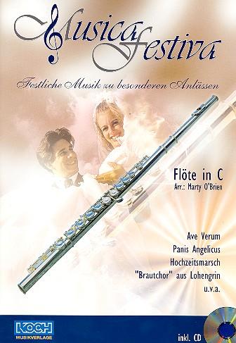 - Musica festiva (+CD) : für Flöte