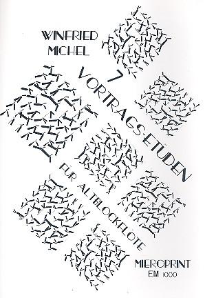 Michel, Winfried - 7 Vortrags-Etüden :