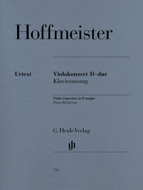 Hoffmeister, Franz Anton - Konzert D-Dur für Viola und