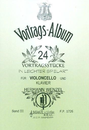 Wenzel, Hermann - 24 Salon- und Vortragsstücke