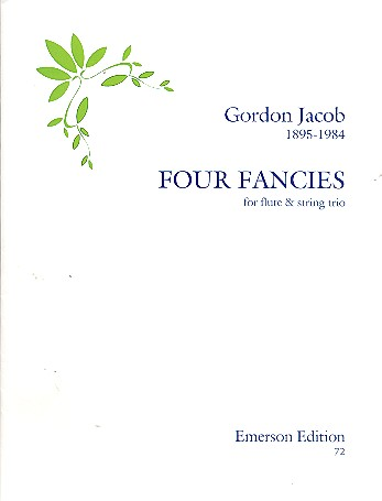 4 Fancies: for flute and string trio