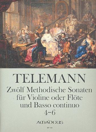 12 methodische Sonaten Band 2 (Nr.4-6): für