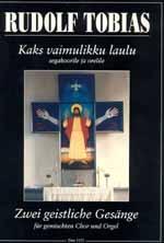 2 geistliche Gesänge: für gem Chor und Orgel