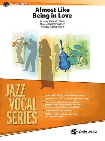Almost like being in Love: for jazz ensemble with solo vocalist