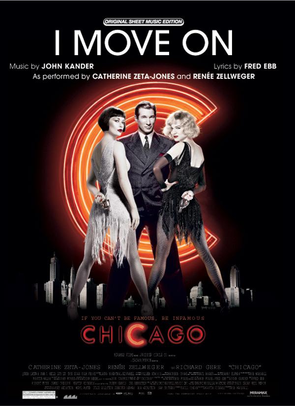 I move on aus Chicago: Einzelausgabe Gesang und Klavier / Gitarre