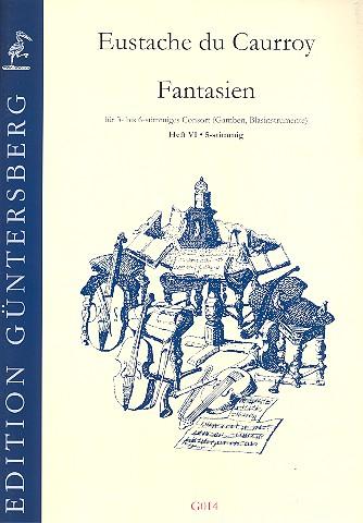 4 Fantasien Band 6: für vierstimmiges Consort