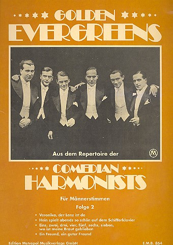 Comedian Harmonists Band 2: Golden Evergreens für Männerchor