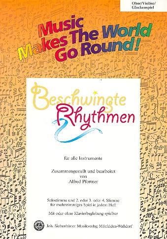 Beschwingte Rhythmen: für flexibles Ensemble Oboe/Violine/Glockenspiel