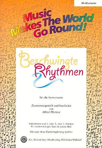 Beschwingte Rhythmen: für flexibles Ensemble Klarinette