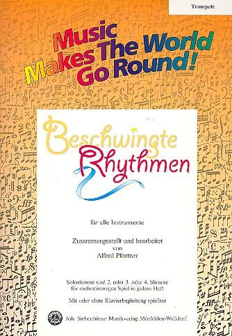 Beschwingte Rhythmen: für flexibles Ensemble Trompete