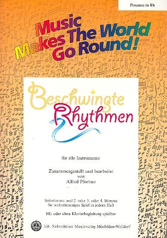 Beschwingte Rhythmen: für flexibles Ensemble Posaune in B