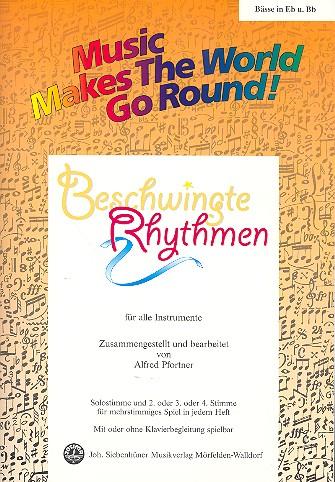 Beschwingte Rhythmen: für flexibles Ensemble Bass in Es und B