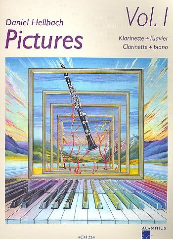 Hellbach, Daniel - Pictures vol.1 (+CD) : für
