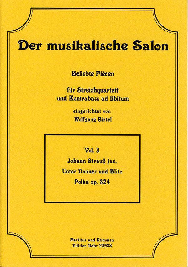 Strauß, Johann (Sohn) - Unter Donner und Blitz op.324 :