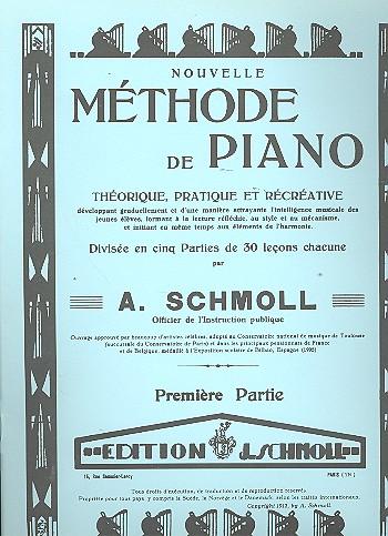 Nouvelle méthode de piano vol.1: Théorique, pratique et récréatrive