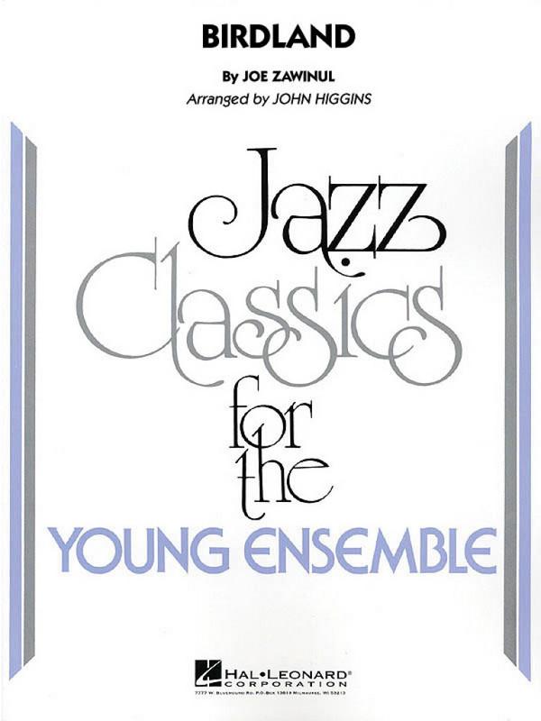 Birdland: for jazz ensemble score and parts