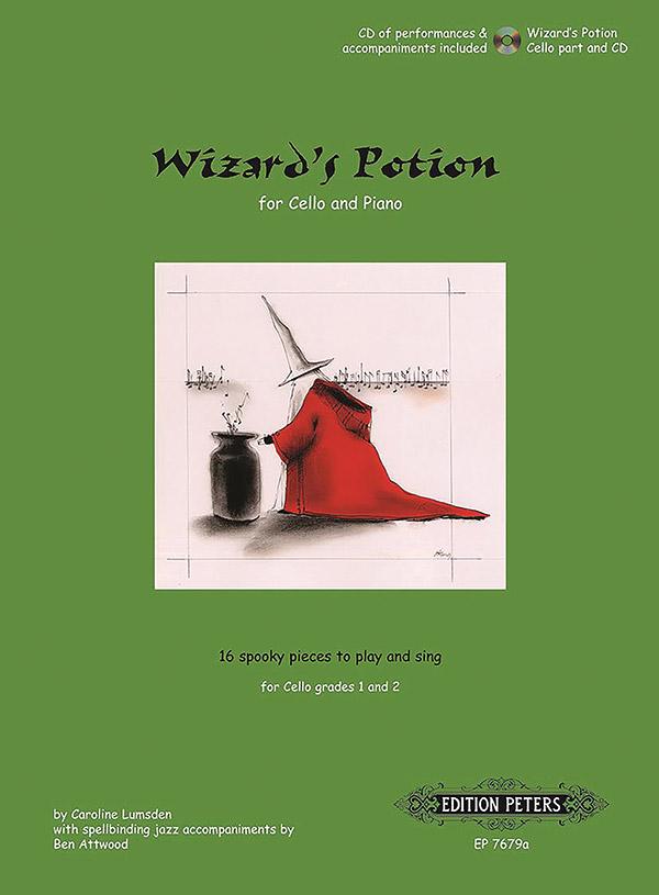 Lumsden, Caroline - Wizard's Potion (+CD) : for violoncello