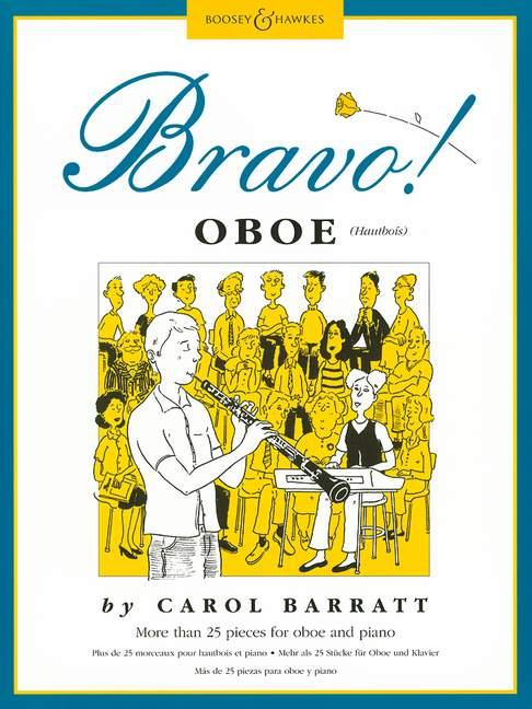 Barratt, Carol Ann - Bravo Oboe : more than 25