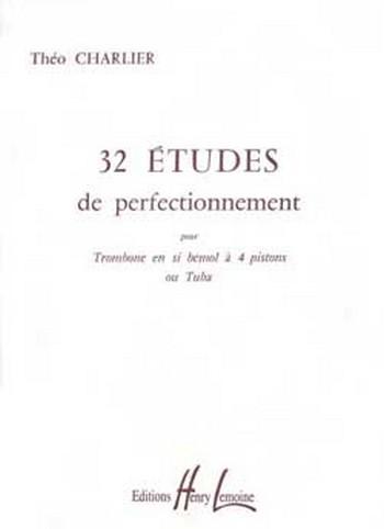 32 études de perfectionnement: pour trombone ou tuba