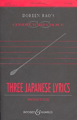3 japanese lyrics: for 4 part treble voices and piano Score