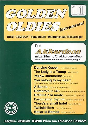 Golden Oldies Band 11: für Akkordeon Solo, Duo oder andere Tasteninstrumente