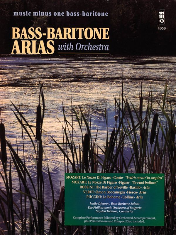 Arias for Bass-Baritone and Orchestra (+CD)