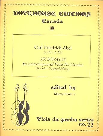 6 sonatas for unaccompanied viola da gamba