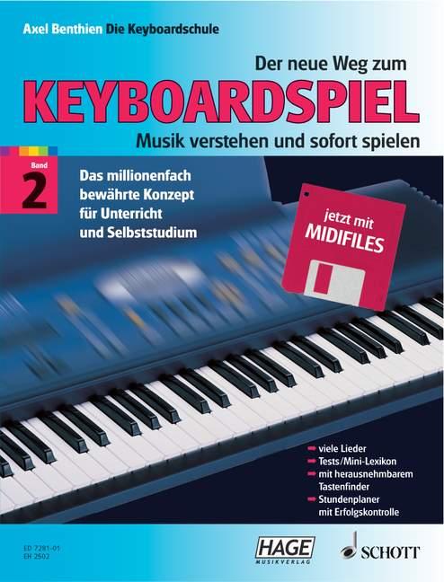 Der neue Weg zum Keyboardspiel Band 2 (mit Mididisk)