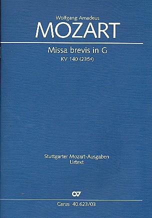 Mozart, Wolfgang Amadeus - Missa brevis G-Dur KV140 :