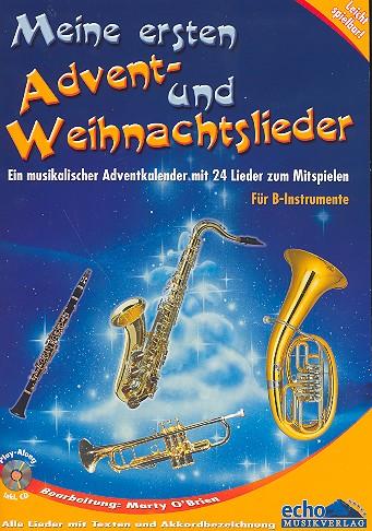 Meine ersten Advent- und Weihnachtslieder (+CD): für