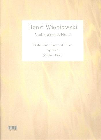 Wieniawski, Henri - Konzert d-Moll Nr.2 op.22 für