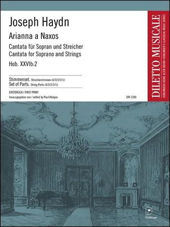 Arianna a Naxos Hob.XXVIB:2: Kantate für Sopran und Streicher