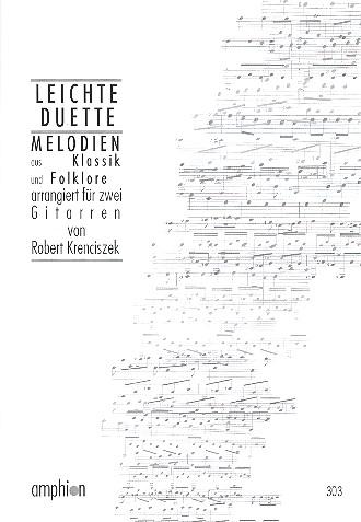 Leichte Duette: Melodien aus Klassik und Folklore