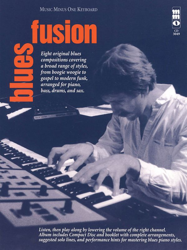 BLUES FUSION (+CD): FOR PIANO