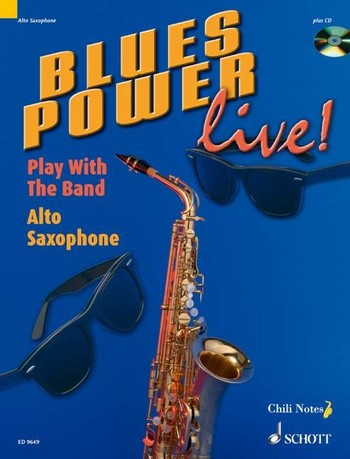 Blues Power Live (+CD): for alto saxophone