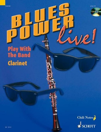 Blues Power live (+CD): for clarinet
