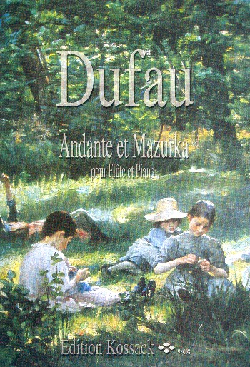 Dufau, Alexandre - Andante et Mazurka :