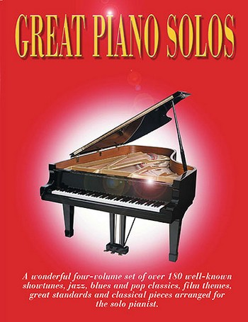 Great Piano Solos: The red, black, blue and