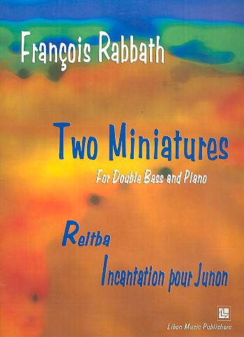 2 Miniatures: for double bass and piano