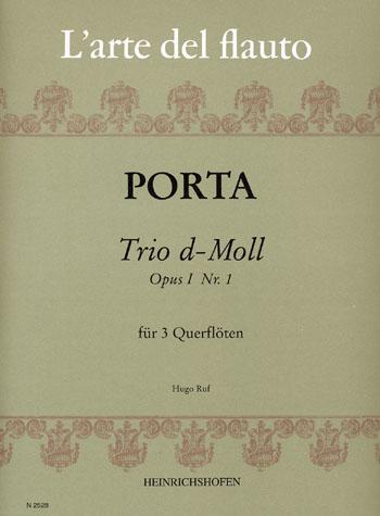 Porta, Bernardo - Trio d-Moll op.1,1 :