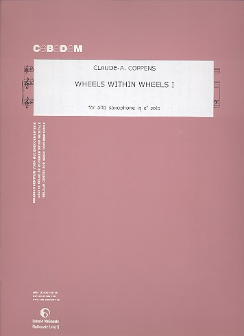 Wheels within wheels vol.1: for alto saxophone solo