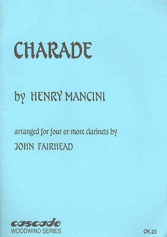 Charade: for 4 or more clarinets