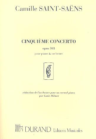 Saint-Saens, Camille - Concerto no.5 op.103 pour