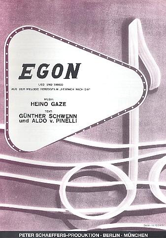 Egon: Einzelausgabe für Gesang und Klavier