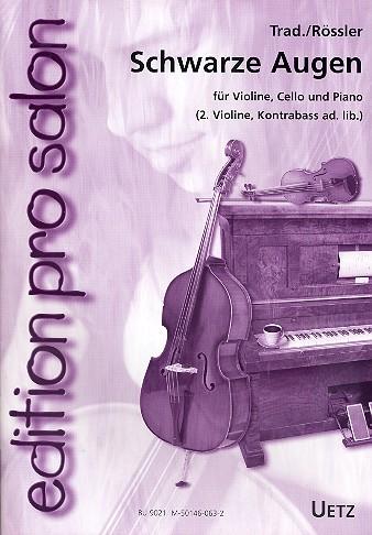 - Schwarze Augen : für Violine,