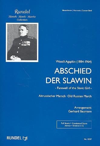 Abschied der Slawin: für Blasorchester