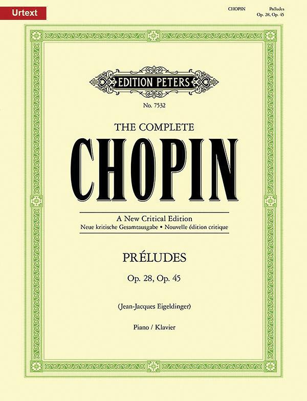 Chopin, Frédéric - Préludes op.28 und op.45 :