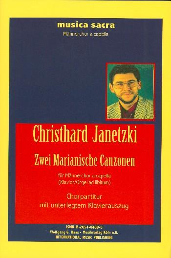 2 Merianische Canzonen: für Männerchor a cappella